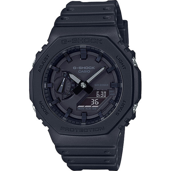 27.09. Casio G-SHOCK GA-2100 с технологией Carbon Core Guard